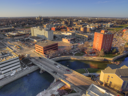 Sioux Falls ist die größte Stadt im Bundesstaat South Dakota und das Finanzzentrum