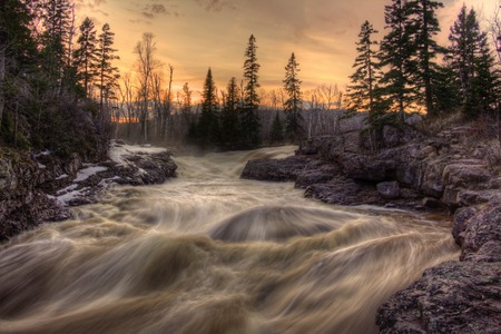 Temperance River is a State Park on the North Shore of Lake Superior in Minnesota