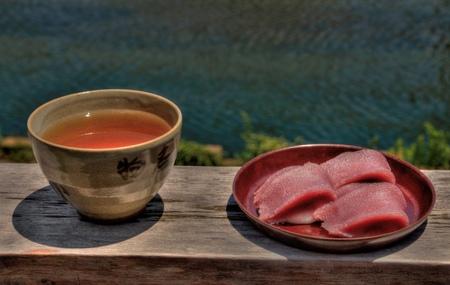 Various foods eaten while traveling in Japan