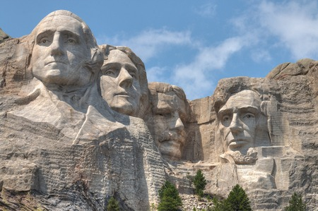 Mt. Rushmore is a famous national monument located in South Dakota 스톡 콘텐츠 - 103306666