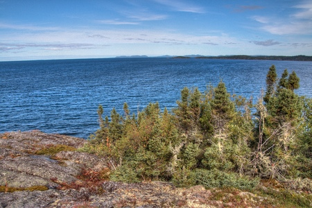 Pukaskwa National Park is on the Shores of Lake Superior in Northern Ontario, Canada