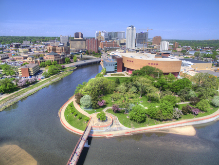 Rochester is a Major City in South East Minnesota centered around Health Care 스톡 콘텐츠 - 102009024