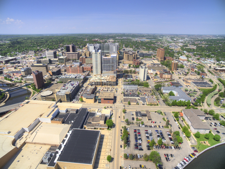 Rochester is a Major City in South East Minnesota centered around Health Care 스톡 콘텐츠 - 101998766