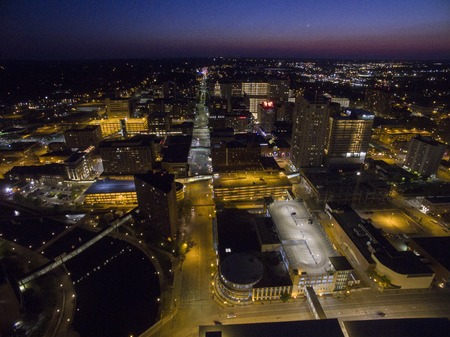 Rochester is a Major City in South East Minnesota centered around Health Care 스톡 콘텐츠 - 102040145