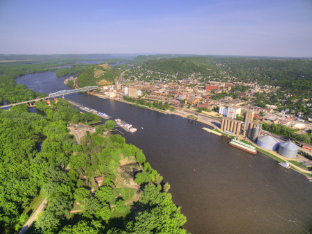 Red Wing is a Community in Southern Minnesota on the Mississippi River