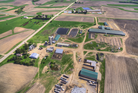 알투라는 미네소타 극 남동부에있는 작은 농업 공동체입니다. 스톡 콘텐츠 - 102327835