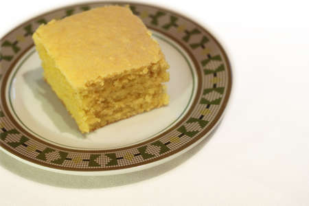 Corn Bread On A Plate