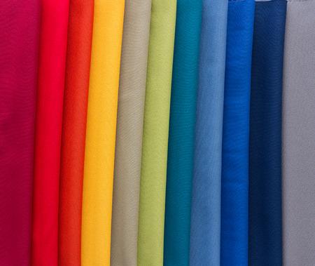 Verschillende Multi gekleurde stoffen voor gestoffeerde meubelen, stoelen, banken, etc