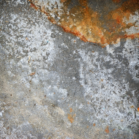 galvanize: Grunge iron texture with scratching and rust on surface. Stock Photo