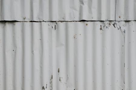 galvanize: Texture of galvanized iron wall.