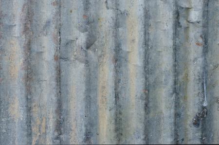 galvanize: Texture and closeup of galvanized iron wall.  Stock Photo