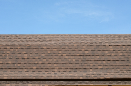 rooftiles: Roof tile in European style with blue sky