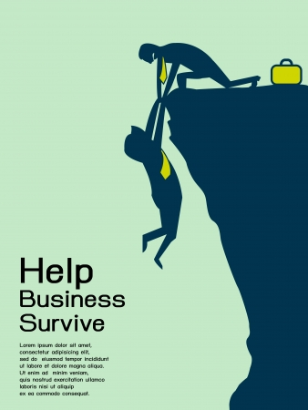 supporting: Help and survive business