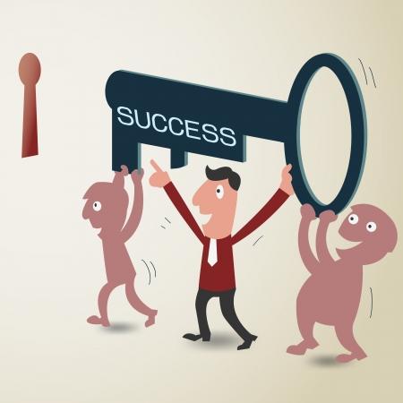 followers: Leader porta seguaci di successo con il tasto