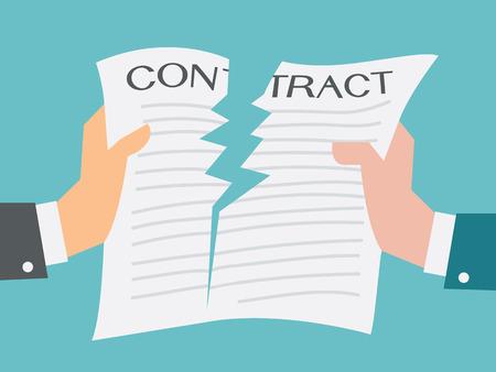 contratos: Dos hombre de negocios