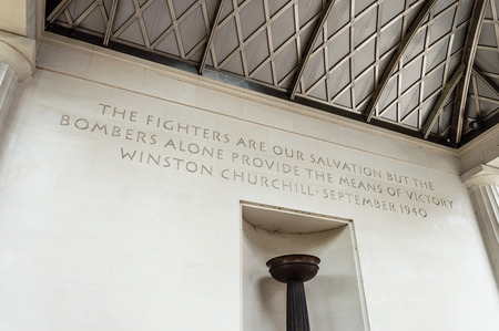 aircrew: London, UK - August 19, 2015: The Bomber Command Memorial commemorates the 55,573 who died while serving in the Bomber Command during the Second World War.