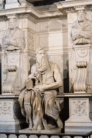 The Moses of Michelangelo