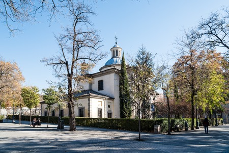 Royal Chapel of St. Anthony of La Florida in Madrid Sajtókép