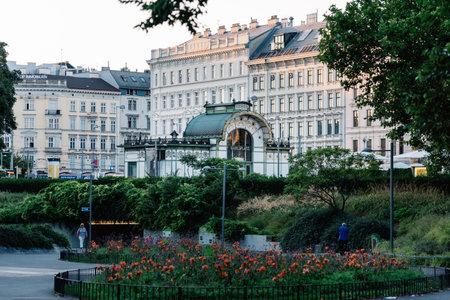 Art Nouveau pavilion at the Karlsplatz Editorial