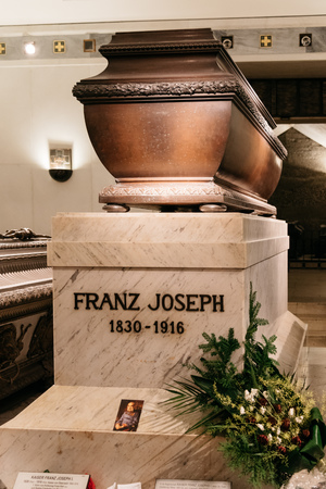 Franz Joseph emperor Tomb in Vienna