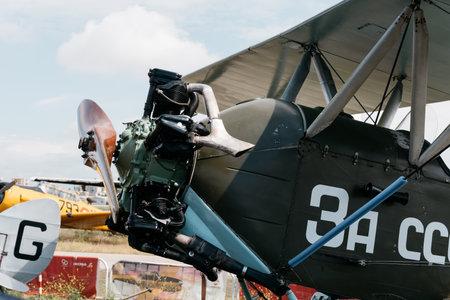Polikarpov Po 2 Russian Aircraft during air show