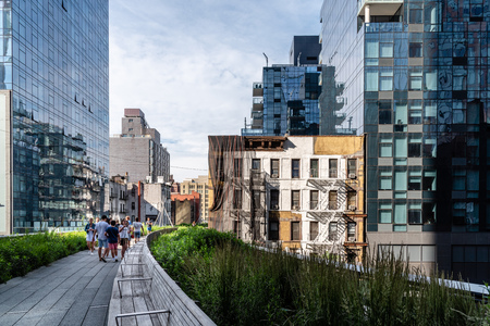High Line greenway in New York City