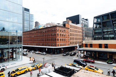 Meatpacking district in Chelsea in New York