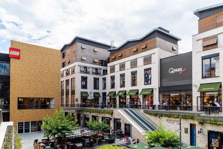 Luxury shopping center in Bordeaux in France