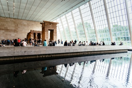 The Temple of Dendur in the Metropolitan Museum of New York