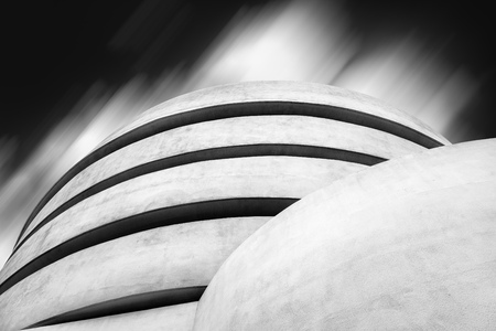 Guggenheim Museum of modern art in New York 에디토리얼