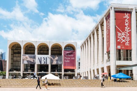 Lincoln Center in Manhattan in New York