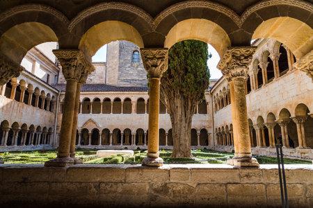 The cloister of Santo Domingo de Silos Abbey