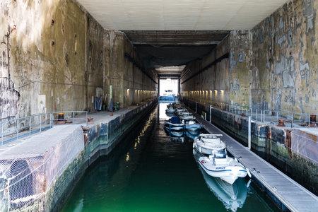 Bunker in Keroman Submarine Base in Brittany 報道画像