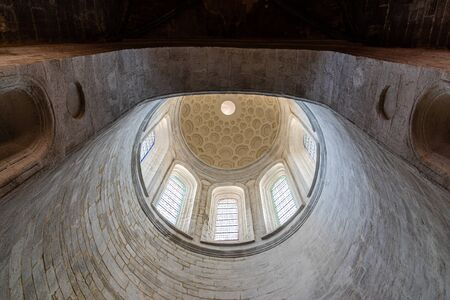 View of Dome inside the Cathedral of Vannes