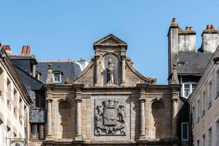 Saint-Vincent Gate in the old town of Vannes