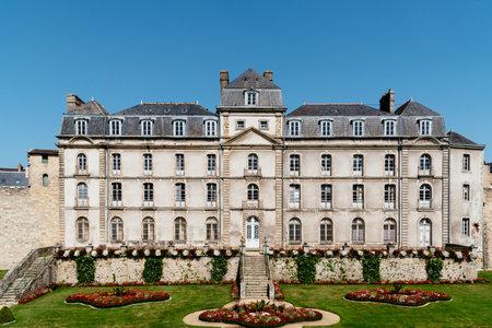 View of Chateau de lHermine in Vannes 報道画像