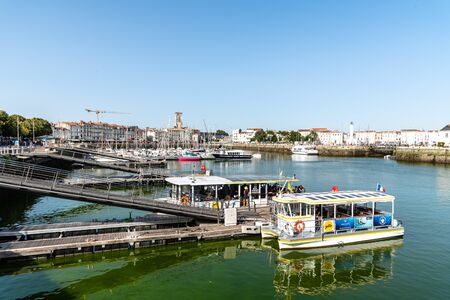 The old port of La Rochelle in France 報道画像