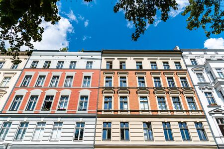 Traditional buildings in Scheunenviertel quarter in Berlin Mitte