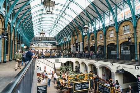 View of Covent Garden Market in London