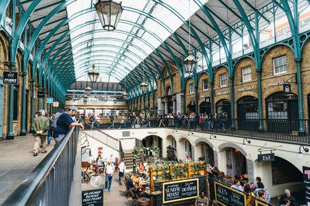 Vista del mercado de Covent Garden en Londres