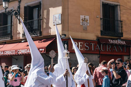 Borriquita procession during Easter Week in Madrid