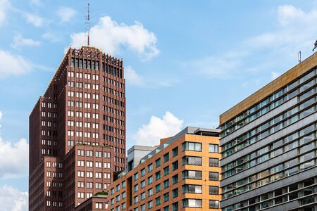 Low Angle View of Residential and Office Buildings in Berlin Mitte