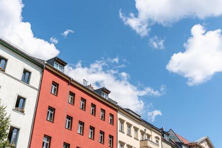 Traditional buildings in Scheunenviertel quarter in Berlin Mitte