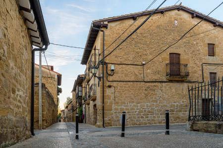 Medieval village of Sajazarra, La Rioja, Spain Archivio Fotografico