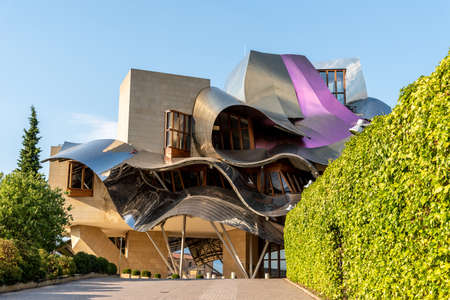 Winery of Marques de Riscal in Alava
