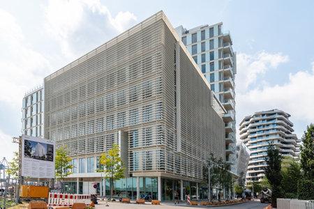 Quartier Am Strandkai luxury apartment building in Harbour City Area of Hamburg