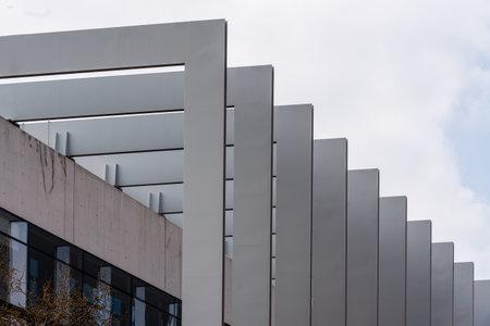 Modern office building. Repsol Headquarters in Madrid Redactioneel