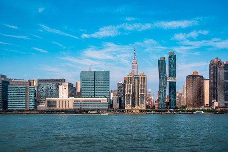 Skyline of Midtown of Manhattan in New York