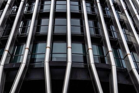 Torre Europa office building skyscraper in Madrid