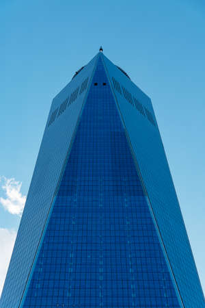 One World Trade Center in NYC, USA Editorial